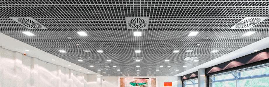 Подвесной потолок Грильято.Описание и свойства.