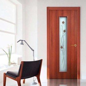 Дверное полотно Тюльпан