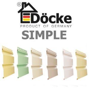 Сайдинг Docke Simple